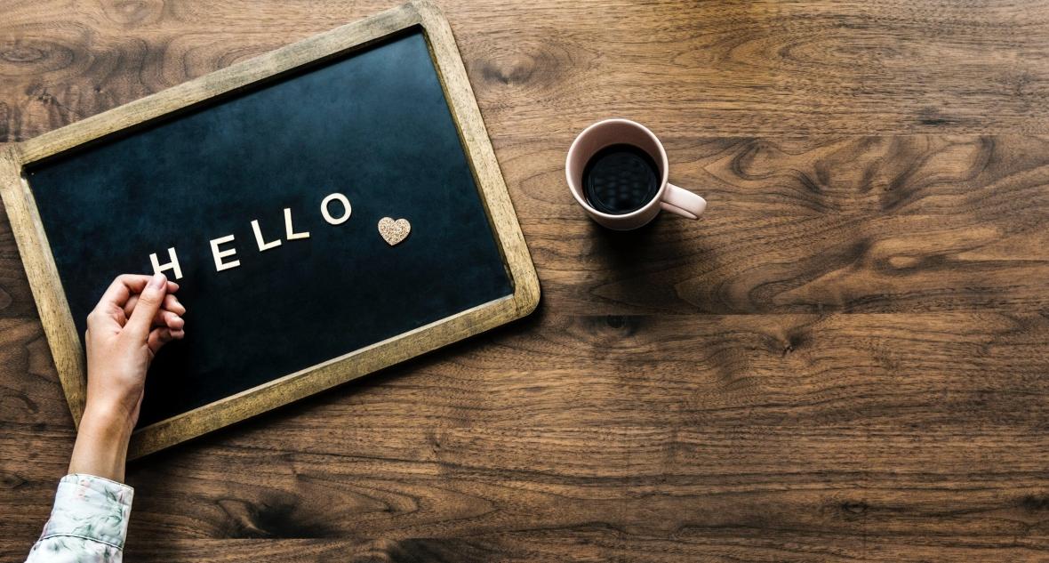 Hello-Chalkboard