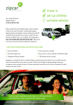 Zipcar Development Letter