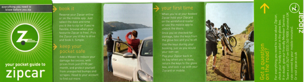 Zipcar Welcome Guide
