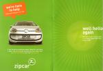 Zipcar Winback Booklet